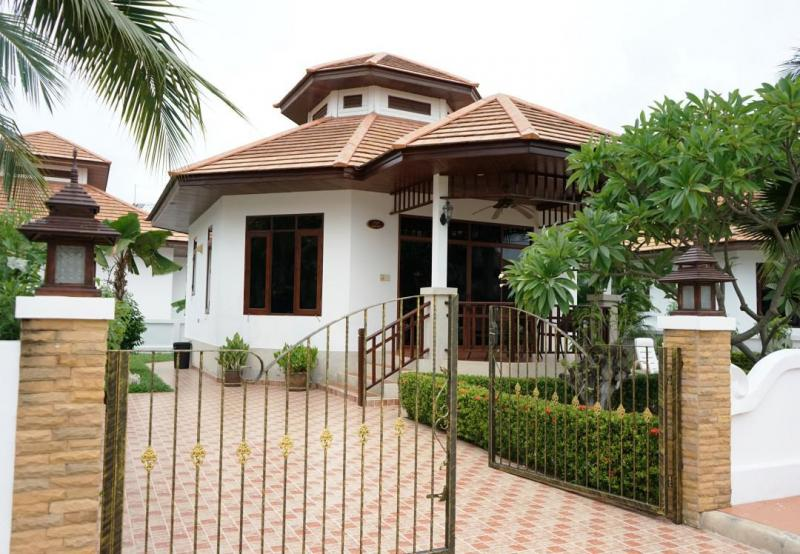 Villa Natalie A12 – Lovely 1 Bedroom Property For Rent In Hua Hin At Manora Village I