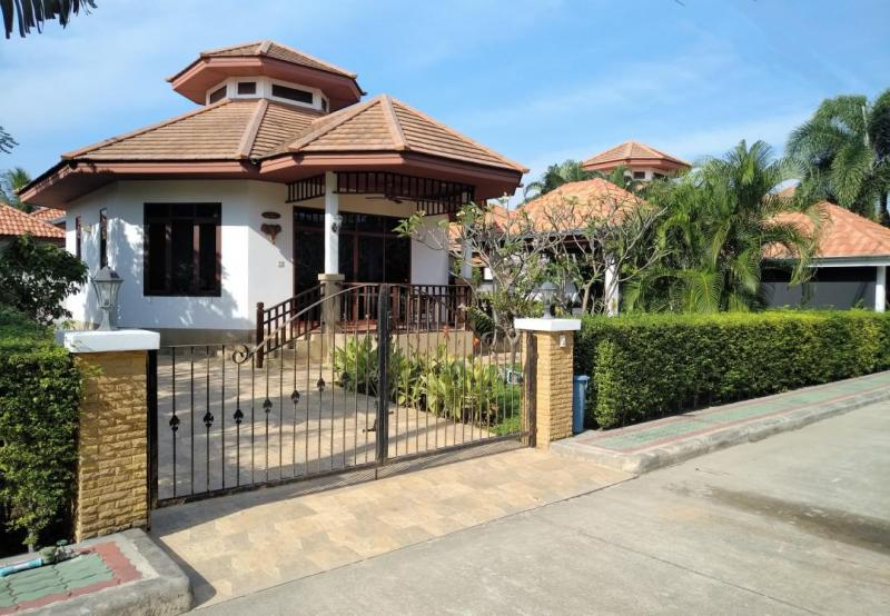 Villa Natalie A7 – 1 Schlafzimmer Haus Zum Mieten In Hua Hin Im Manora Village II