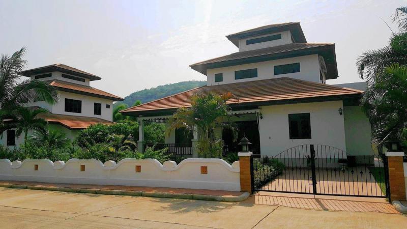Villa Poisien C2 – Large Villa For Rent In Hua Hin At Manora Village I