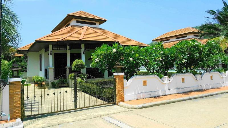 Villa Busaba B18 – Luxury Villa For Rent In Hua Hin At Manora Village I