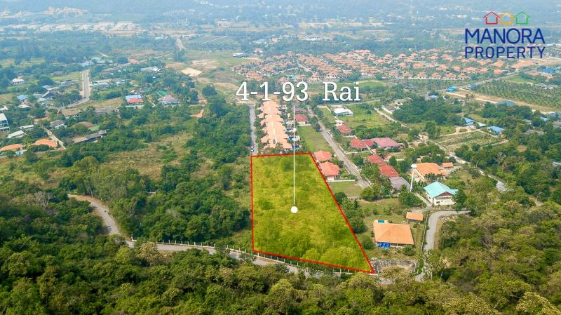 Large Plot of Land For Sale in Khao Tao, Hua Hin