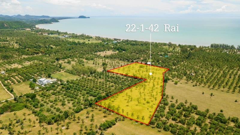 Large plot of Land for Sale at Dolphin Bay, Sam Roi Yot – Perfect for Investment – 400m from Beach!