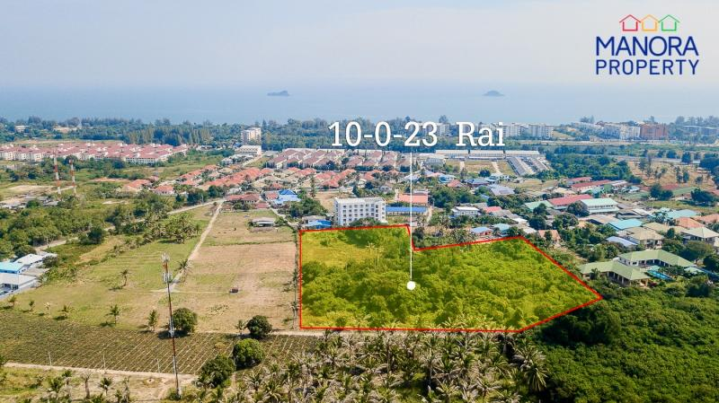 Large 10.6 Rai Land Plot For Sale on Soi 126, Hua Hin