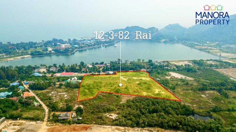 Large 12.96 Rai of Land For Sale at Khao Tao Lake, Hua Hin – Unique Opportunity!