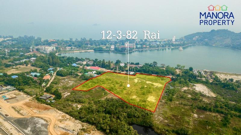 Große 12,96 Rai Landarzelle zum Verkauf am Khao Tao See, Hua Hin – Einmalige Gelegenheit!