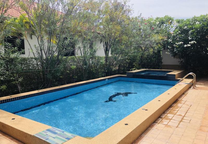 Villa Grande E4 – Beautiful 3 Bedroom Pool Villa For Sale In Hua Hin At Manora Village III