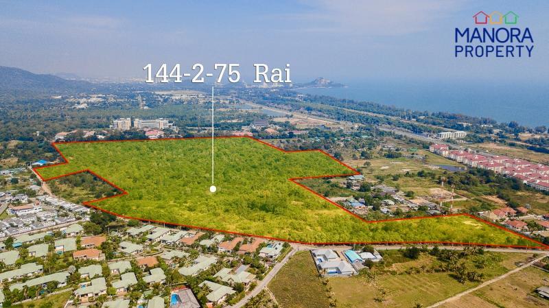 Erstaunliches Grundstück mit 145 Rai Land zum Verkauf in Hua Hin – Perfekt für ein exklusives Wohnprojekt!