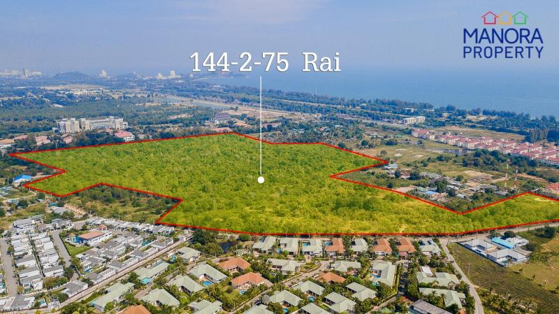 Amazing Property Encompassing 145 Rai Land Area For Sale, Hua Hin – Perfect For An Exclusive Housing Project!
