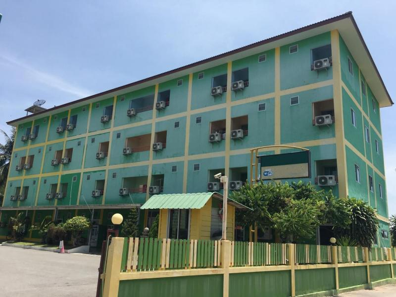 63 Unit Student-Apartment Building With Sports Center For Sale, Cha-Am