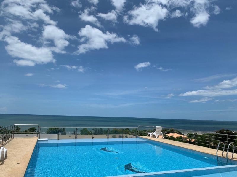 2 Bedroom Sea-View Condo For Sale At Blue Sky Condominium, Cha-Am – Corner Unit!