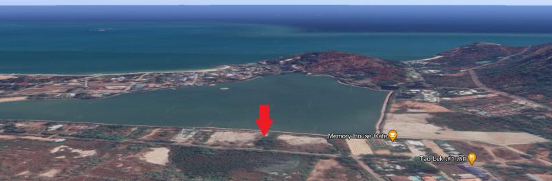 7 Individual Lake-Front Land Plots For Sale in Hua Hin, Khao Tao Lake