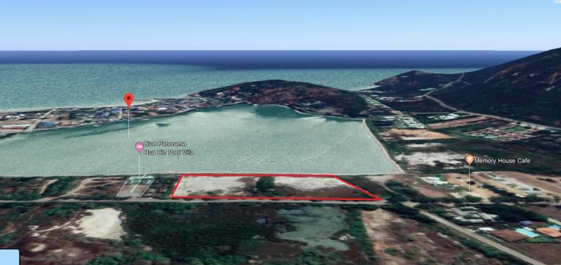 Large Lake-Front Land Plot For Sale On Khao Tao Lake, Hua Hin