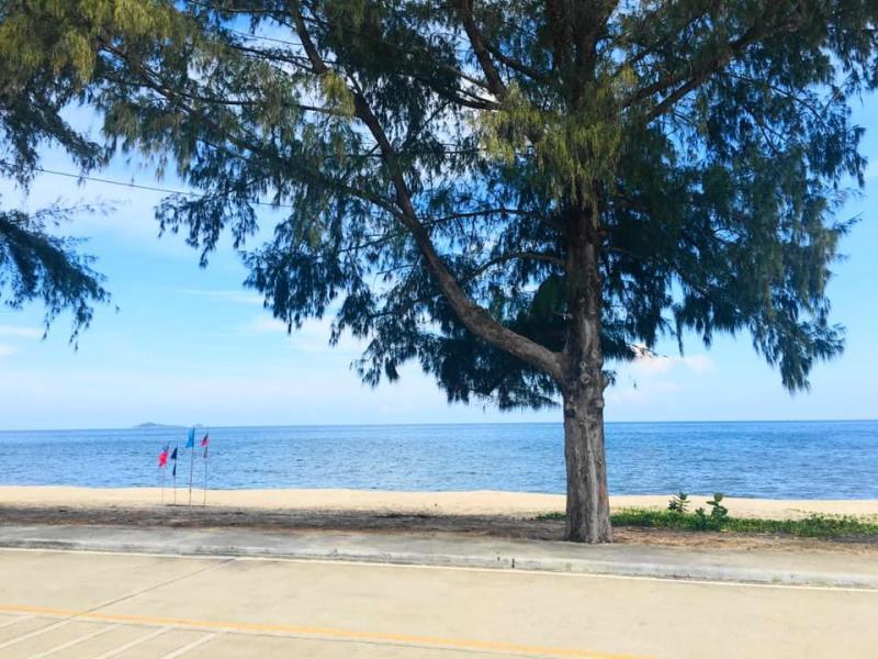 Beautiful Beach Land For Sale with 20m Beach frontage at Ban Huai Yang, Prachuabkirikhan