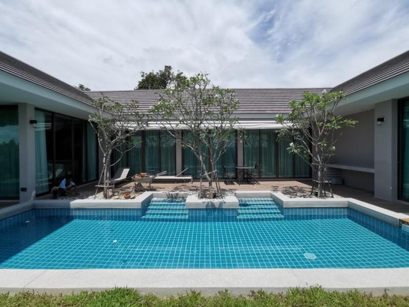 Luxury 3 Bedroom Pool Villa For Sale Near Banyan Golf Course, Hua-Hin – Price Start 9.9 MB!