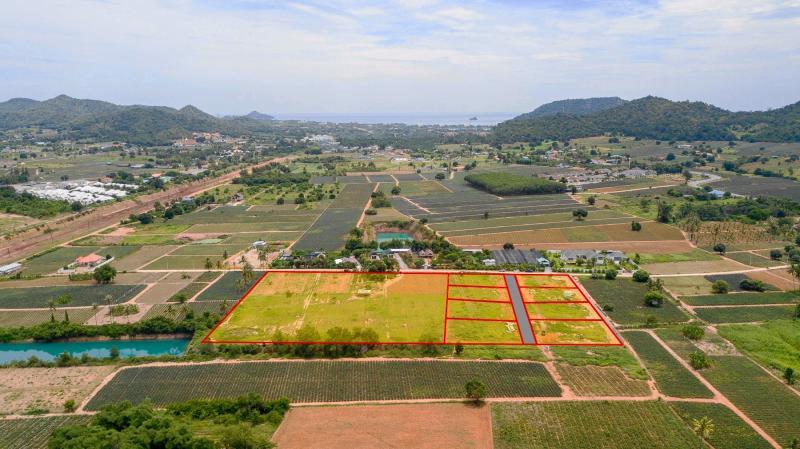 Bella Vista – 20 beautiful plots of building land for sale in Pranburi, Khao Tao area!