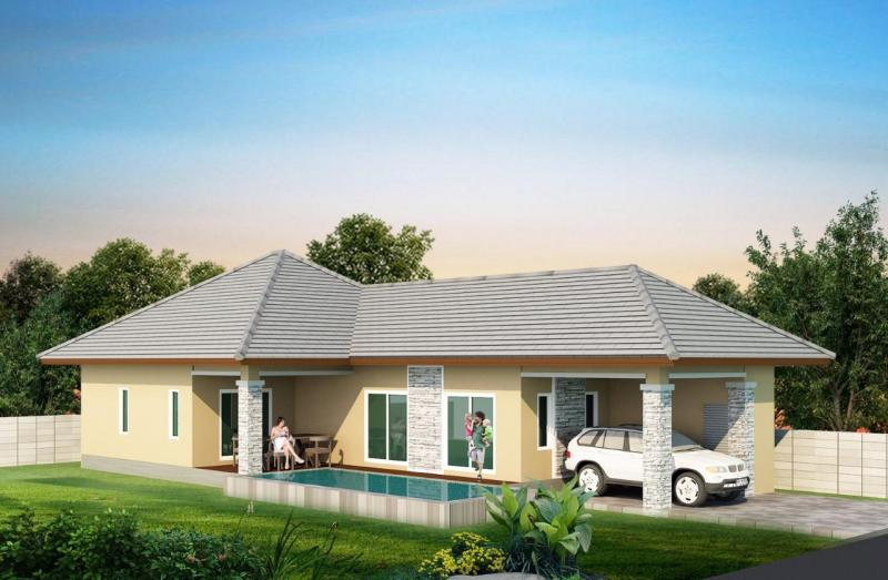 New off-plan 3 bedroom pool villas for sale in Thap Thai, Hua Hin – Great Price!