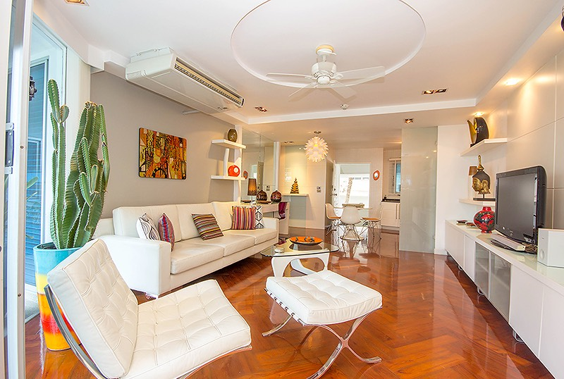 Large 2 Bedroom Condo for sale at Baan Chai Talay, Hua Hin – Direct beach access & 3 km to Hua Hin center!