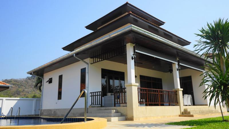 Villa Poisien C3 – Large 3 bedroom Pool Villa For Sale in Hua Hin, Manora Village I – Khao Tao