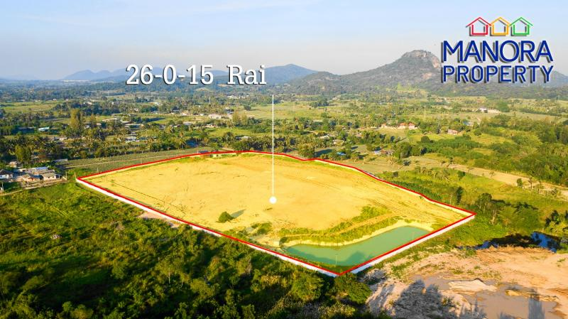 Beautiful Land plot for Sale in Wang Pong, Pranburi – With private lake!