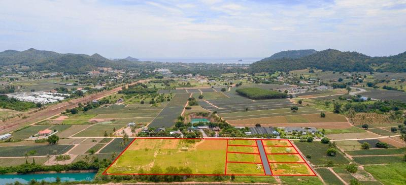 Bella Vista – 20 wunderschöne Grundstücke zum Verkauf in Pranburi, Khao Tao
