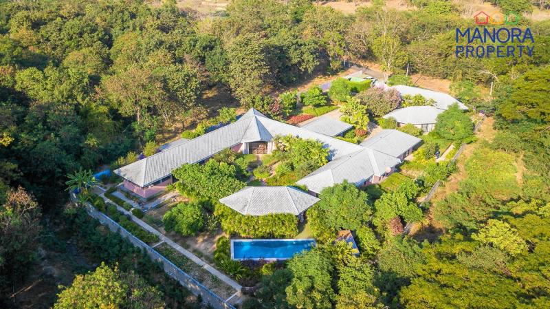 Large 2 bedroom pool villa for sale on Springfield Golf Course – Unique & Eco Friendly Design – Ultimate Privacy