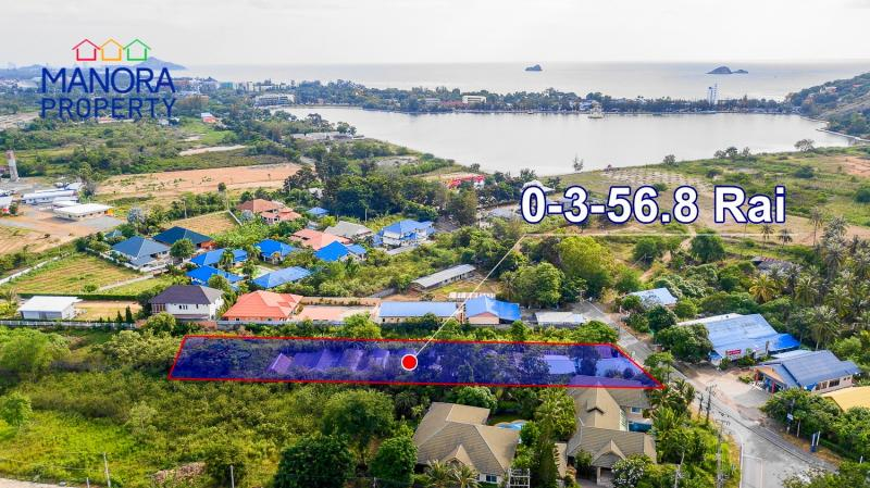 Almost 1 Rai of land for sale in Khao Tao – near the Lake and Beach!