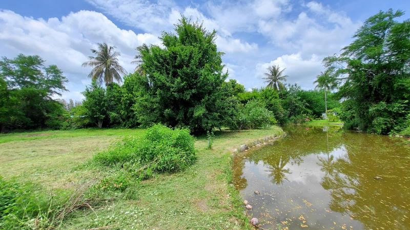 3 individual Land plots for sale near Palm Hills Golf Course, Cha-Am – Great for a private villa!
